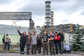 Scheduled excursions to the Chernobyl Nuclear Power Plant